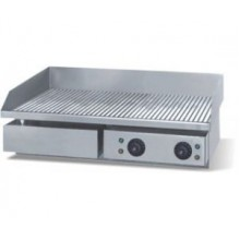 Grill gratar striat din inox - electric