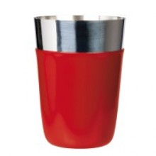 Cocktail shaker rosu