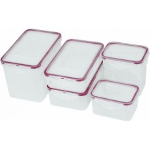 Container PP cu capac 0.8 litri