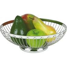 Cos inox pentru paine/fructe rotund diam 20 cm