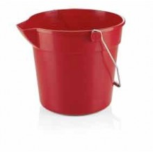 Galeata PP rosie 10 litri