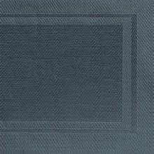 Napron PVC culoare neagra, 45 x 33 cm cadre gri