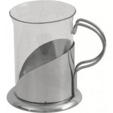 Pahar ceai cu suport inox, 200 ml