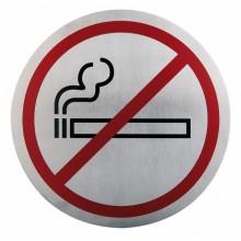 Semn indicator pentru nefumatori din inox 16 cm