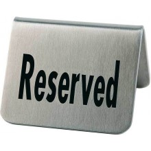 "Set 2 placute gravate ""Reserved"""