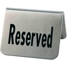"Set 2 placute gravate ""Reserved"""