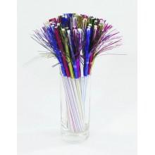 """Set paie """"foc artificii"""" in diverse culori 250 buc"""