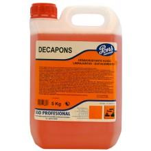 Decapant dezincrustant acid DECAPONS 5 Litri