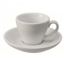 Ceasca si farfurie cafea portelan - Italia