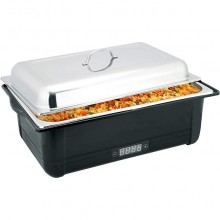 Chafing dish electric cu afișaj digital GN 1/1 - 100 mm