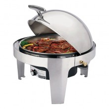 Chafing dish electric rotund 6.8 litri