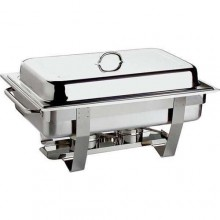 Chafing dish inox GN 1/1, GN 1/2