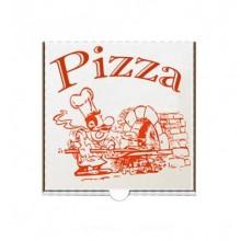 Cutie pizza 24 cm carton alb 100 buc / set