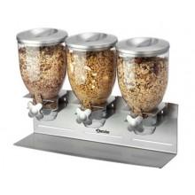 Dispenser cereale triplu 3 x 3.5 litri