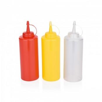 Flacon, dispenser sosuri 450 ml - Semi-transparent