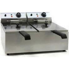 Friteuza electrica profesionala 2x8 litri