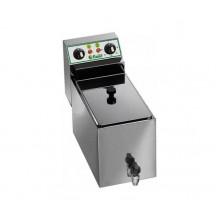 Friteuza electrica profesionala 8 litri cu robinet