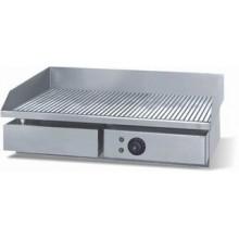 Grill / gratar profesional striat din inox 550x450x230mm