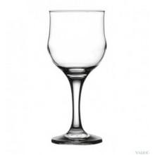 Pahar vin rosu cu picior 240 ml - Tulipe