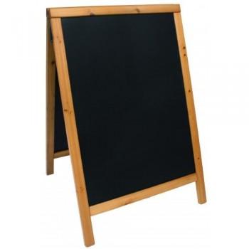 Panou stradal lemn 6,5 × 56,5 × 89 cm