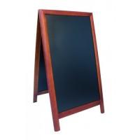 Panou stradal lemn Maro inchis 125x70,5 cm