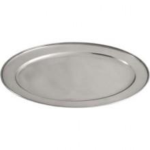 Tava inox ovala 254x183 mm