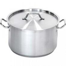 Semioala inox cu capac 16.1 litri