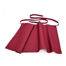 Sort ospătar Bistro - roșu burgund 95x100 cm