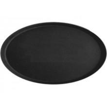 Tava ovala neagra antialunecare 51x64 cm