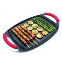 Tigaie/Tava, plancha, grill cu manere 29x22.5cm