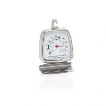 Termometru frigider din inox -30 °C + 30 °C, Dimensiune: 6x8.5 cm