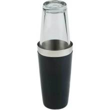 Boston shaker culoare neagra 800 ml