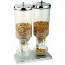 Dispenser cereale dublu 2x4.5 litri