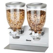 Distribuitor dublu de cereale