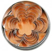 Forma de taiat aluat set 6 piese - forma floare