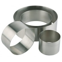 Inel inox mousse Ø10 x H4.5 mm